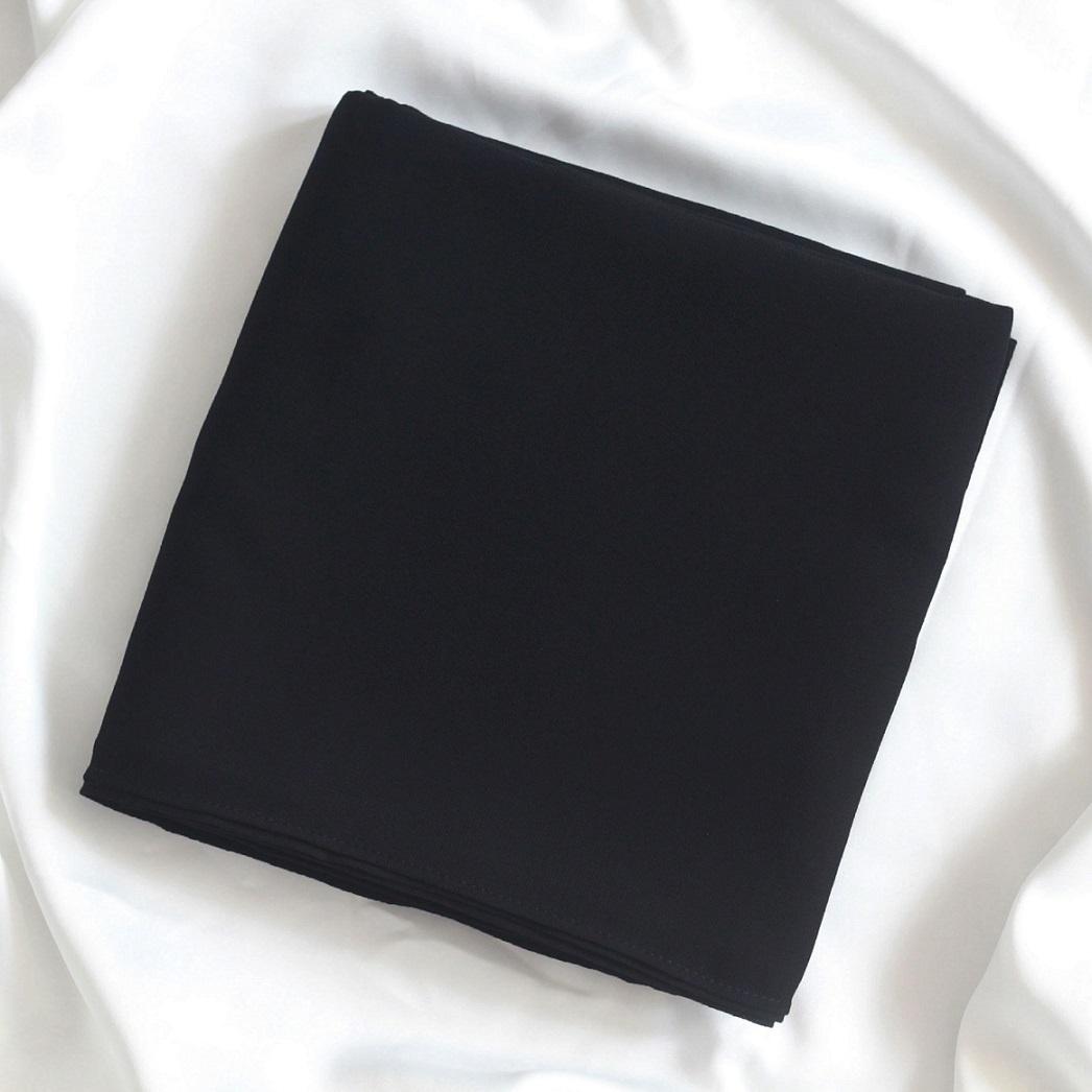 Black SQUAREX Square Hijab