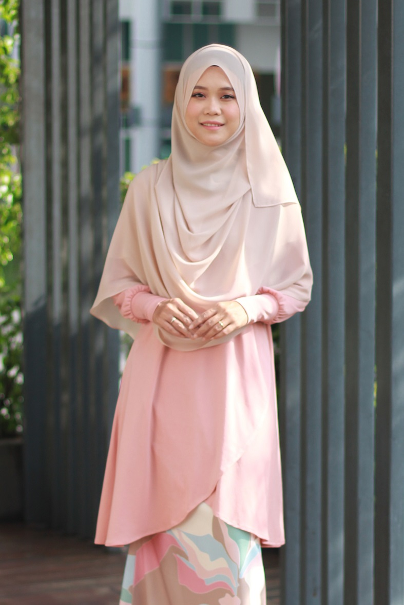 Light Peach NADRA Nursing Blouse