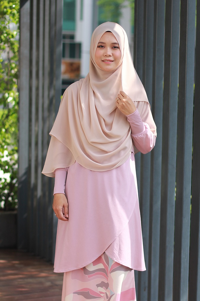 Light Pink NADRA Nursing Blouse