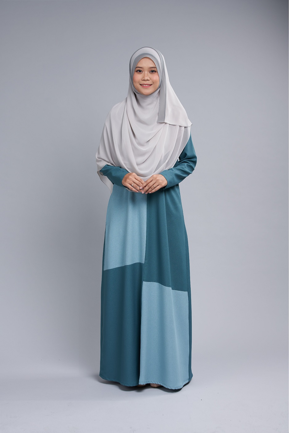 Teal Green-Mint MARYAM Nursing Jubah