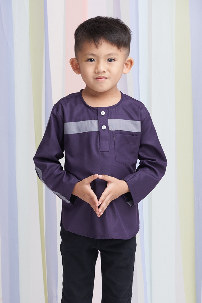 Purple GRACE For Boy