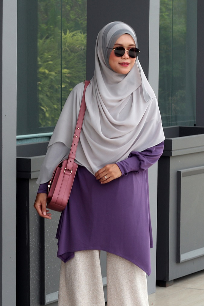 Plum NADINE Nursing Blouse