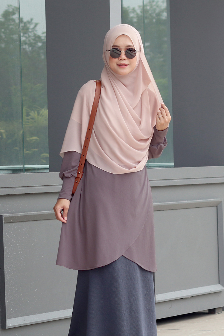 Rosy Brown NADRA Nursing Blouse