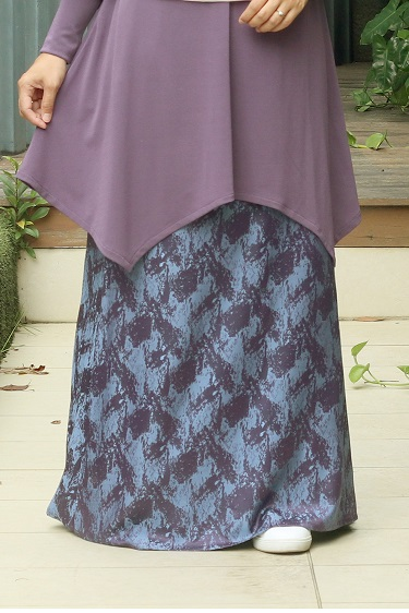 Dark Purple GRACE Skirt
