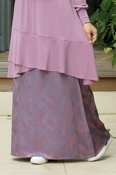 Mauve GRACE Skirt
